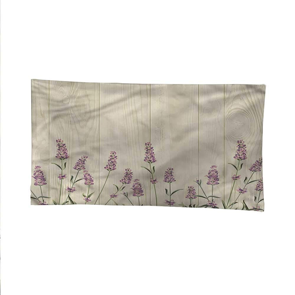 Lavenderocean tapestrylarge tapestryHerbs on Wooden Planks 84W x 54L Inch