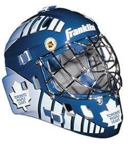Toronto Maple Leafs Franklin Mini Goalie Mask---(Package of 2) (Masks Toronto Goalie)