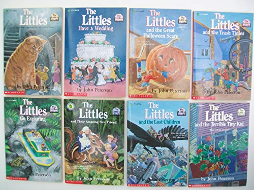 The Littles Series (Partial Set of 8) Have a Wedding, Great Halloween Scare, Trash Tinies, Go Exploring, Amazing New Friend, Lost Children, Terrible Tiny Kid