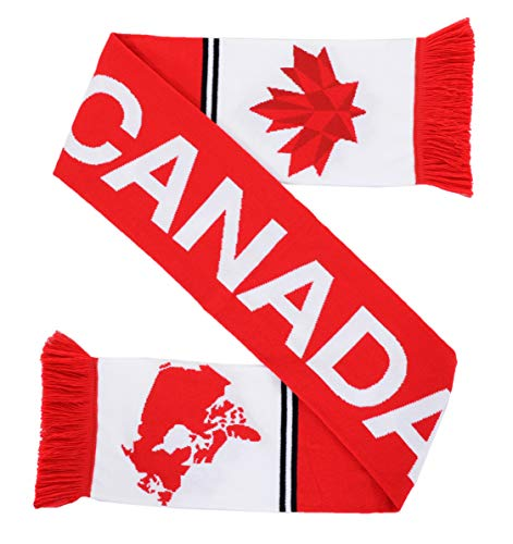4d3b3fe878b Euroscarves National Soccer High-Definition HD Knit Scarf (Canada)