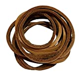 """1 PCS of 1/8"""" Rawhide Leather Shoelaces Shoe Boot Laces Shoestrings Cord"""