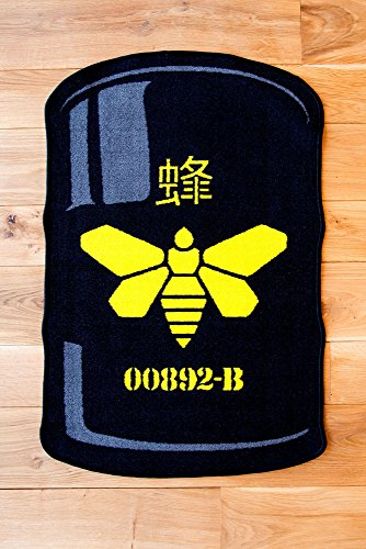 Breaking Bad Rug Methylamine Barrel 67 X 100 Cm Poptoy Tappeti