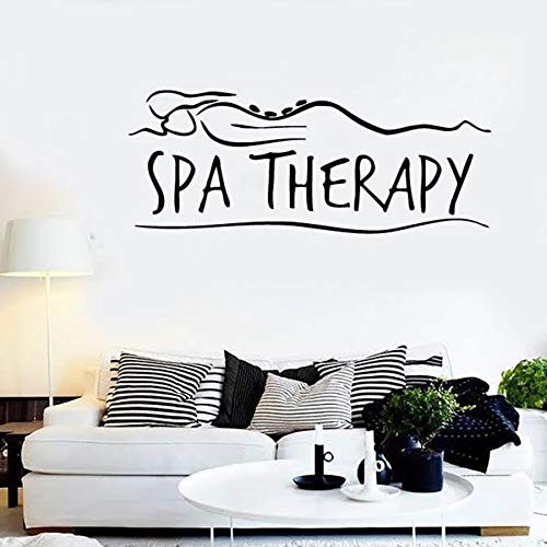 Tianpengyuanshuai SPA Therapy Wall Sticker Masaje Relax Girl ...