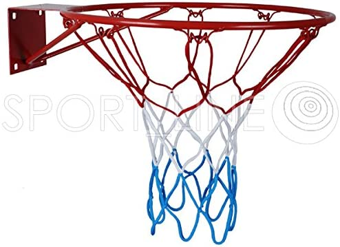 diameter of 37/cm//45/cm Hanging basketball net hoop backboard with basketball ring net metal for children
