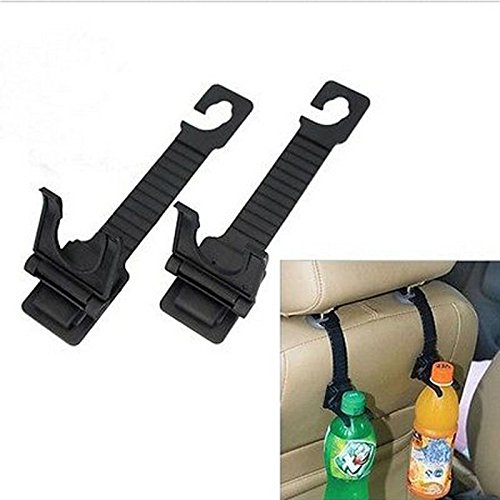 VIPASNAM-1 pair Auto Car Seat Back Hanger Bottle Bag Holder Hook Interior - Syracuse Mall Outlet