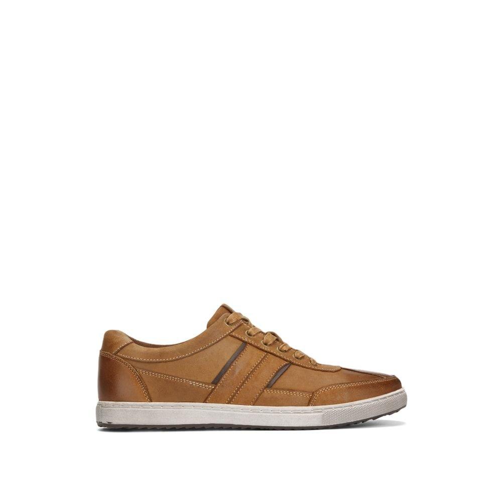 Kenneth Cole REACTION Men's Sprinter Sneaker, Tan, 13 M US