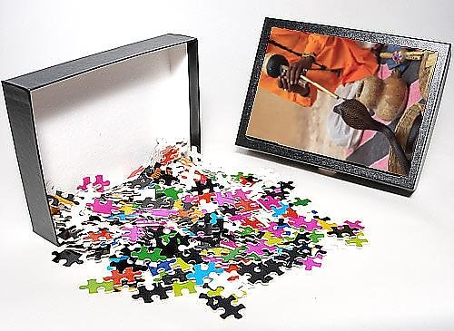 Photo Jigsaw Puzzle of Snake Charmer, Rajasthan, India, Asia
