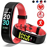 Best Activity Wristbands - Mgaolo Fitness Tracker HR,Activity Tracker IP68 Waterproof Smart Review