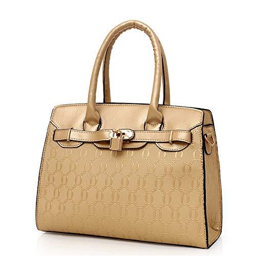 Elegante de bolso de bolso mano sintético bolso mujer trabajo Bolsos Iq1wT