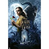 Grupo Erik editores gpe5139 Poster with Design The Beauty and The Beast, Color Rose