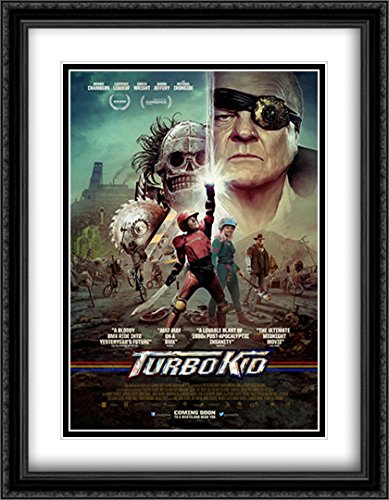 Turbo Kid 28x36 Double Matted Large Large Black Ornate Framed Movie Poster Art Print