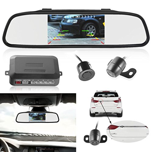 Backup Camera and Car Monitor Camera, LESHP Car Vehicle Rear