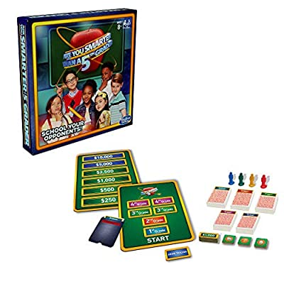 Hasbro Gaming are You Smarter Than a 5th Grader Board Game for Kids Ages 8 & Up: Toys & Games