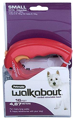 Petmate Walkabout Retractable Leash Pounds