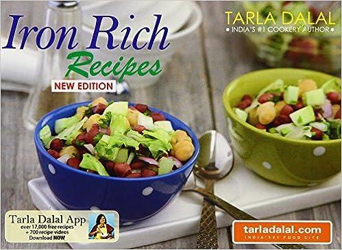 Iron rich recipes tarla dalal 9788189491307 amazon books forumfinder Choice Image
