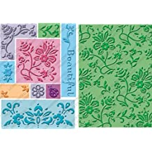 Cuttlebug 2000286 All-In-One Embossing Plates, Beautiful