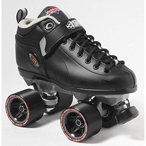 Sure-Grip Boxer Roller Skate Package -black sz Mens 10 / Ladies 11