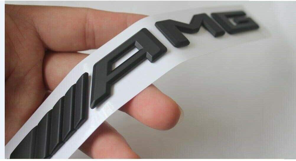 miling Black GLE43 Fit AMG BITURBO 4MATIC Trunk Fender Badges Emblems for AMG