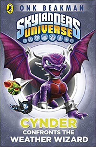 Skylanders Mask Of Power Cynder Confronts The Weather Wizard Book