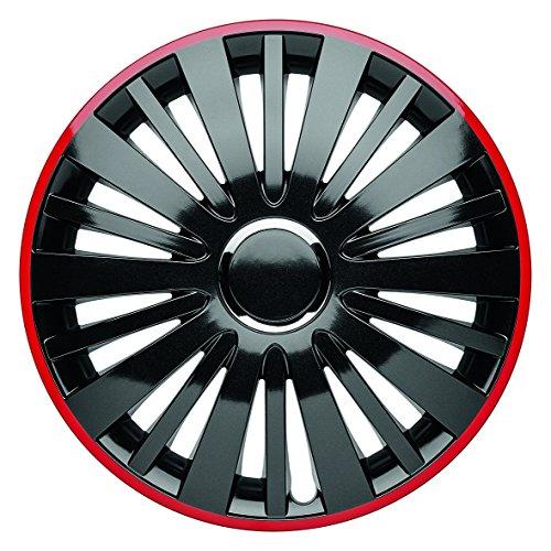 """well-wreapped 'Albrecht Automotive 49614Falcon Red Dusk Plus 14"""", 1jeu d'enjoliveurs"""