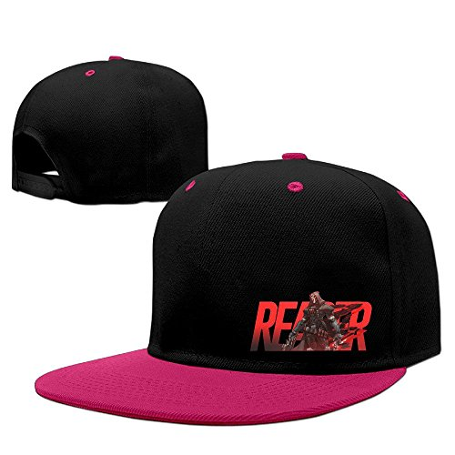 Price comparison product image Texhood Overwatch Cool Reaper Cool Baseball Cap One Size Pink