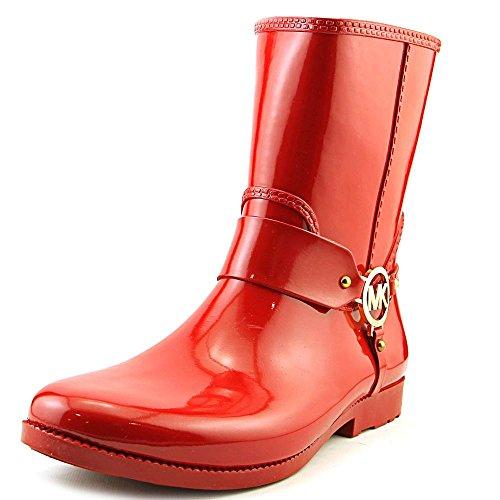 - MICHAEL Michael Kors Fulton Harness Rain Booties Red (8)