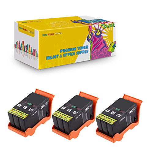 New York TonerTM New Compatible 3 Pack T094N Color (Series 21) High Yield Inkjet For Dell : V313 | V313W | V515W | V715W | P513W | P713W . -- Color