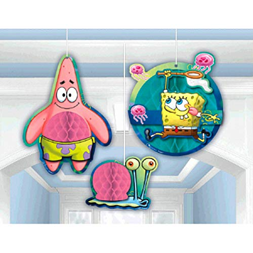 Honeycomb Decorations   SpongeBob Collection   Party Accessory   6 -