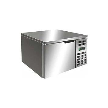 Armario frigorífico de cocina de restaurante de 3 bandejas RS7155: Amazon.es: Hogar