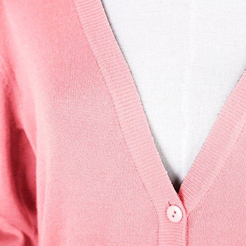 GoCo Femmes Pull Cardigan Casual Tricot Urban en qgBdwqO