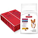 Hill's Science Diet Adult Dry Dog Food, Advanced Fitness Small Bites Chicken & Barley Recipe Pet Food, 35 lb Bag