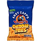 Andy Capp's Cheddar Flavored Fries, 0.85 oz, 72 Pack