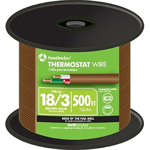 Southwire 18-3 Thermostat/Bell Wire (By-the-Foot) -