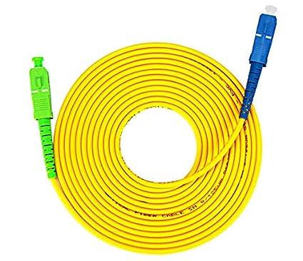 Câble à Fibre Optique (jarretière Optique) Compatible Free Box (10M) 3VTECH.FR