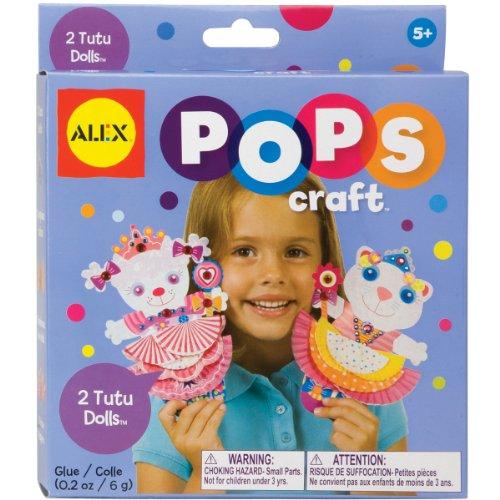 ALEX Toys POPS Craft 2 Tutu Dolls