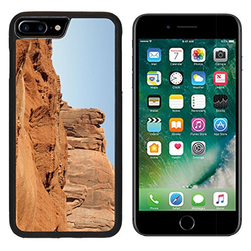 MSD Premium Apple iPhone 7 Plus Aluminum Backplate Bumper Snap Case The Buttes of Monument Valley in Navajo Tribal Lands of Arizona and Utah USA IMAGE 34801766 (Aerial America Utah compare prices)