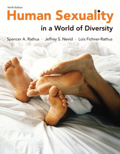 Human Sexuality in a World of Diversity paper 9th Edition