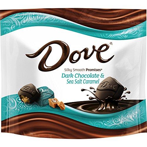 Dove Promises Sea Salt and Caramel Dark Chocolate Candy Bag, 7.61 ()