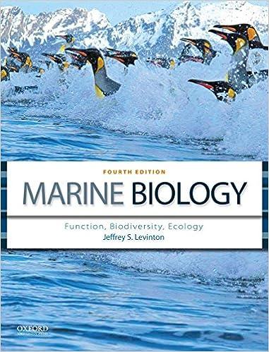 Function Marine Biology Ecology Biodiversity