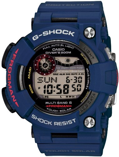 CASIO G-SHOCK MEN IN NAVY FROGMAN (GWF-1000NV-2JF) for sale  Delivered anywhere in USA