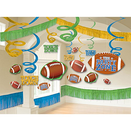 (Amscan Football Giant Room Party Decorating)