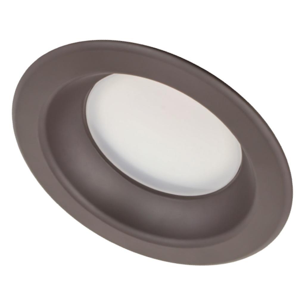 American Lighting E4-27-DB EPIQ 4 LED Economy Retrofit Downlight Module Smooth 2700K, 4-inch, Dark Bronze