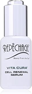 product image for Repechage Vita Cura Renewal Serum Natural Anti-Aging Face Moisturizer with Hyaluronic Acid, Marine Seaweed, Antioxidant EGCG, & Vitamin K to Brighten, Smooth and Even Tone for Men and Women 1 fl Oz
