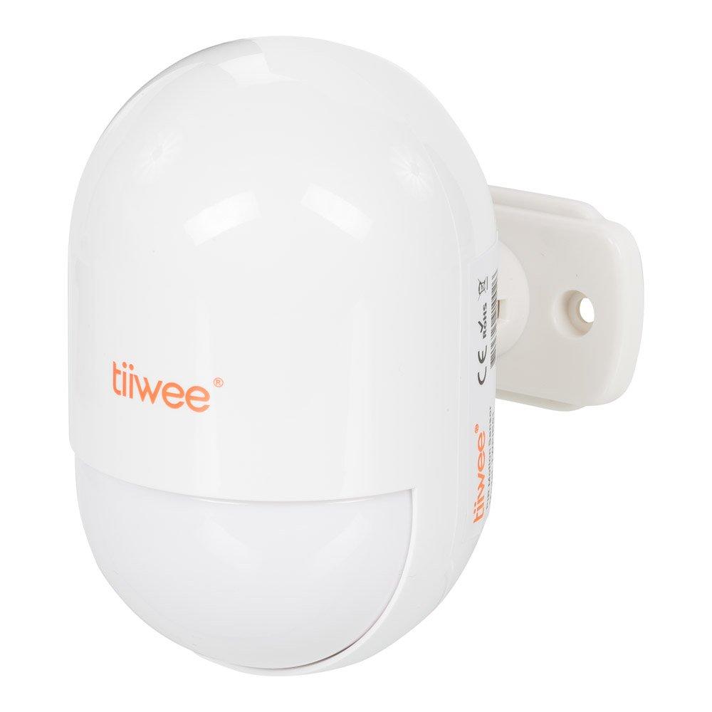 tiiwee Sensor de Movimiento PIR TWPIR01 para el Sistema de Alarma de Hogar - Sistema de Alarma de casa antibloqueo inalámbrico - Seguridad en el hogar