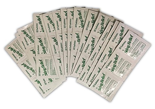 (Safetec Insect Sting Relief Wipe (case of 48))