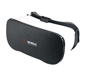 VR Todo en Uno 3D WiMiUS Auriculares Virtual Reality Gafas Box WiFi Para PC Película FHD