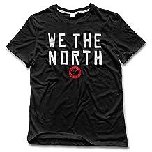 Men's Toronto Raptors Basketball WE THE NORTH Maple Leaf T-shirt Black L