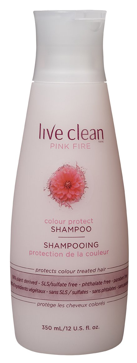 Live Clean Pink Fire Colour Protect Shampoo