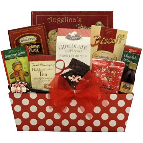GreatArrivals Christmas Holiday Gift Basket: Christmas Morning Breakfast - Red & Green