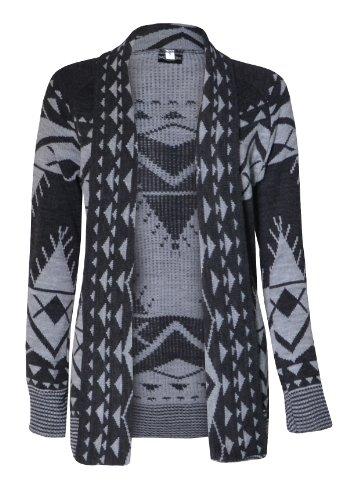 front mtc drape womens long femmes aztec cardigan azt BO5wqxpn